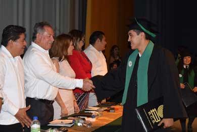Graduación de la sexta generación del COBACH 10