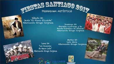 Invitan a las Fiestas de Santiago