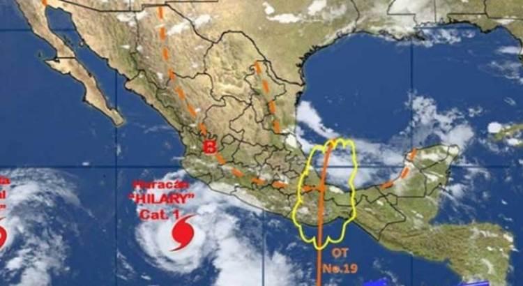 """Podría """"Hilary"""" evolucionar a huracán mayor para este martes"""