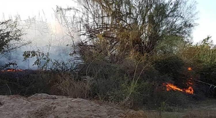 No descartan que el incendio en el Estero haya sido provocado