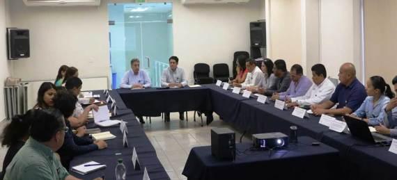 El Procurador Erasmo Palemón Alamilla Villeda se reunió con subprocuradoras, coordinadores de zona, directores y coordinadores de área la mañana del sábado.