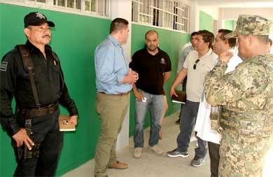 Inspecciona Gobierno Municipal refugios temporales