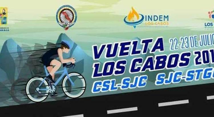 """Invitan a la """"Vuelta Los Cabos 2017"""""""