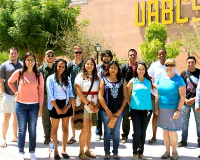 Ofrecerá UABCS evento de bienvenida a estudiantes de movilidad