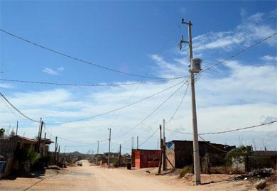 Avanza la ampliación e introducción de energía eléctrica