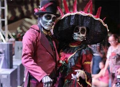 Exitoso Festival de Día de Muertos