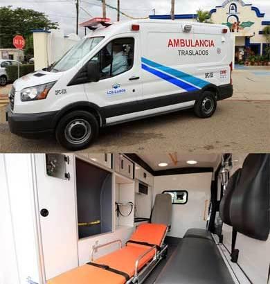 Entrega gobierno cabeño 3 ambulancias