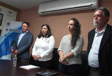 Rinden homenaje en  la CEDH a Silvestre de la Toba