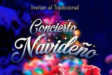 Invitan al tradicional Concierto Navideño