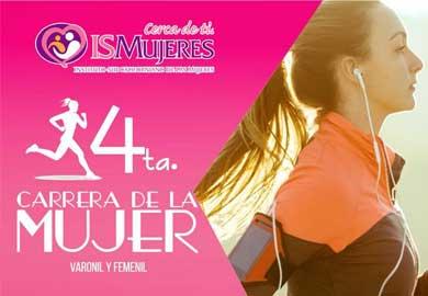Invitan a la 4ta Carrera de la Mujer