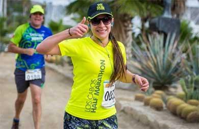 """En puerta """"Los Cabos Half Marathon"""""""