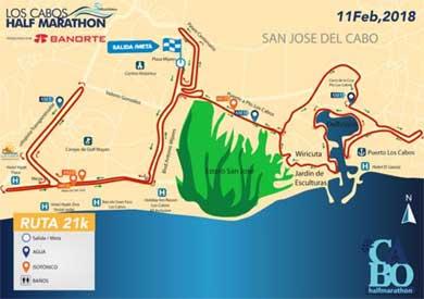 """Invitan al """"Los Cabos Half Marathon 2018"""""""