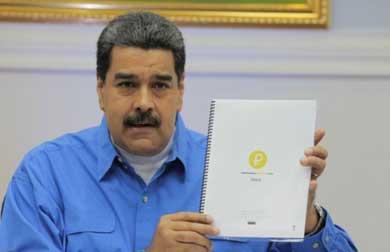 "Fecha Venezuela preventa de ""petros"""