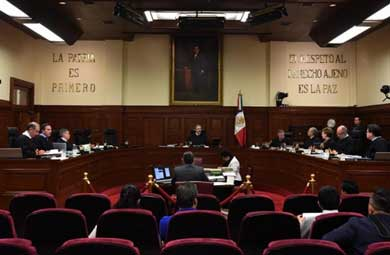 Admite SCJN trámite de controversia por Ley de Seguridad
