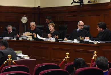 Acepta Corte primera impugnación a la Ley Seguridad Interior