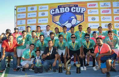 """Exitosa  """"Cabo Cup 2018"""""""