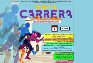Invita IMMLC a carrera con causa
