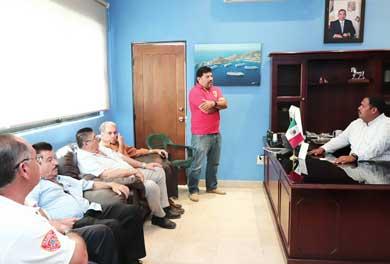 Se reunió Delegado de CSL con gremio de transportistas