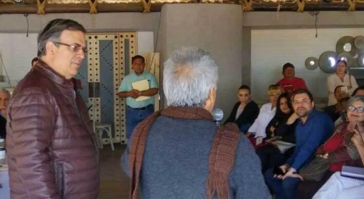 Supervisa Ebrard la estructura para la defensa del voto de Morena en BCS