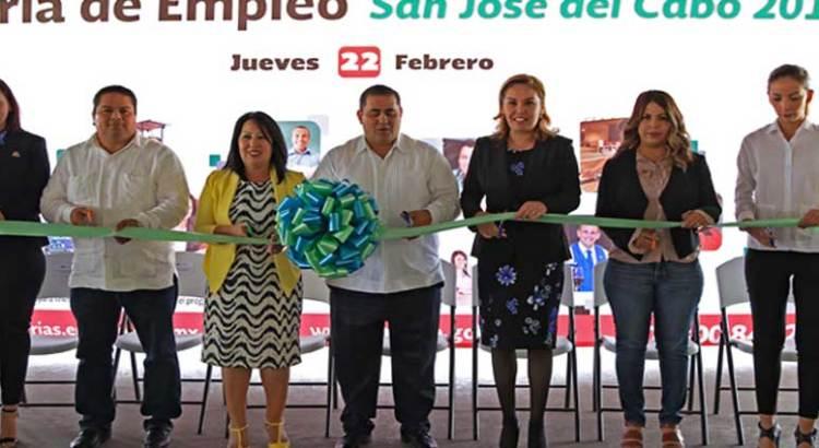 Inauguran Feria del empleo en SJC