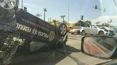 Protagoniza patrulla de la Gendarmería accidente vial