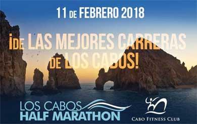 En puerta Los Cabos Half Marathon 2018