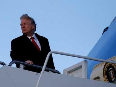 Miles marchan contra Trump
