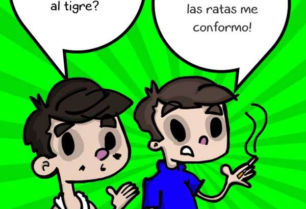 Amarren al tigre