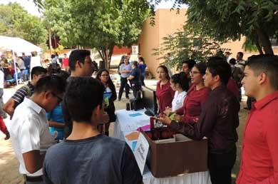 Más de 800 jóvenes asistieron a la 1er. Feria Educativa