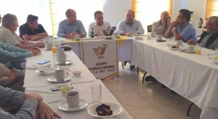 Se reunió Procurador con miembros de CANACO y Madrugadores