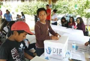 elección del difusor municipal de los Derechos de los Niñas y Niños 2018