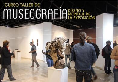 Invitan a curso taller de museografía