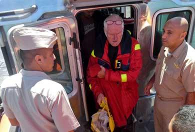 Rescatan a turistas que se encontraban a la deriva