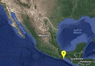 Se registra sismo en Salina Cruz, Oaxaca