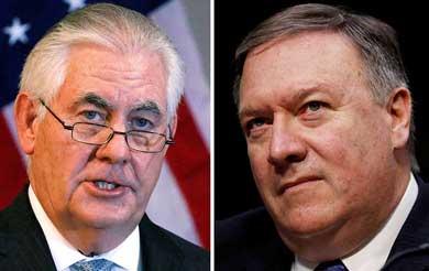 Despide Trump a su Secretario de Estado