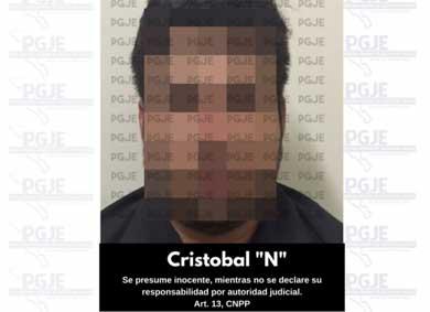 Agarraron a  Cristóbal con 750 dosis de cristal