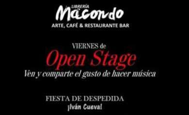 Noche de open stage en Macondo