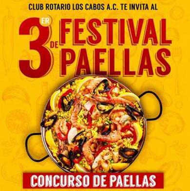 Invitan al 3er Festival de Paellas