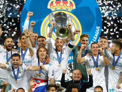 Real Madrid, histórico tricampeón