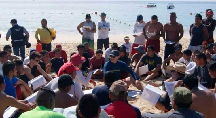Arranca seminario de rescate acuático