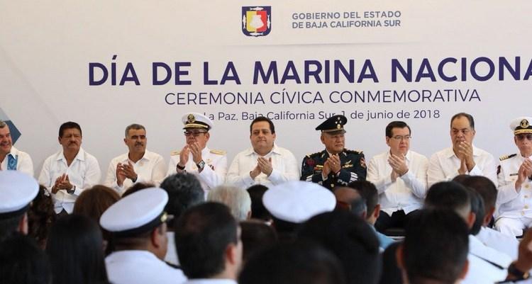 Marina Nacional, orgullo de México: CMD
