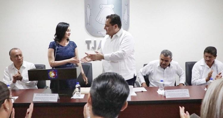 Preside gobernador instalación de Tribunal Anticorrupción y Responsabilidades Administrativas