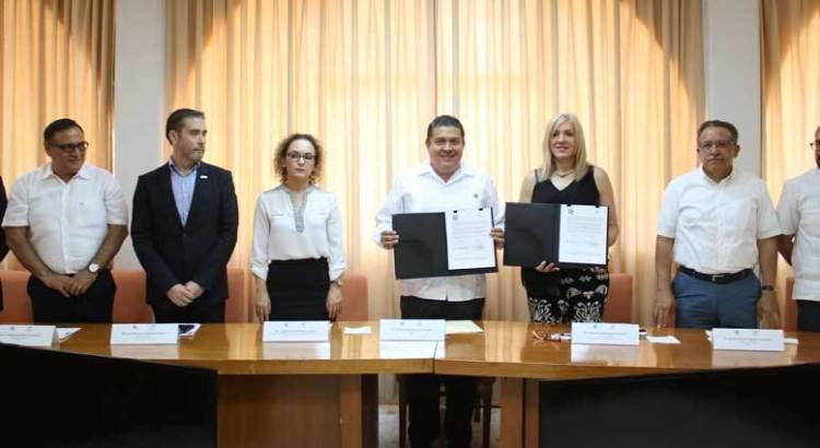 Concretan alianza estratégica UABCS y Entidad Mexicana de Acreditación