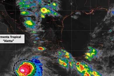 Prevé el SMN tormentas muy fuertes