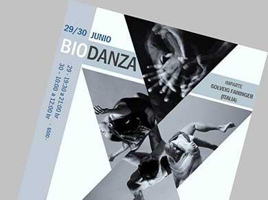 Taller de Biodanza en La Fábrica