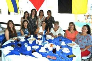 desayuno de las Damas promotoras en el sector naval de Cabo San Lucas,
