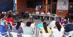 reunión entre autoridades del Gobierno Municipal, Estatal y asociaciones civiles vinculadas con personas que tienen algún tipo de discapacidad en Los Cabos.