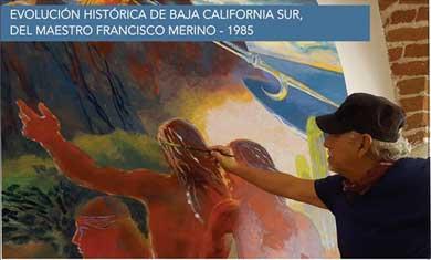 Reinaugurarán murales del maestro Merino
