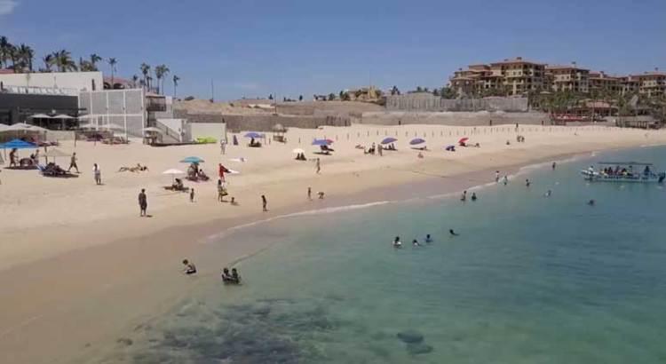 Rehabilitadas las playas tras el paso de Bud
