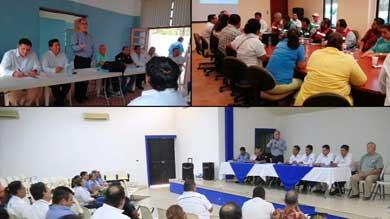 Instalan Consejos Delegaciones de Protección Civil